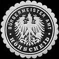 Siegelmarke Bürgermeister Amt Höhscheid W0313380.jpg
