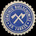 Siegelmarke Gemeinde Bielschowitz Kreis Zabrze W0310634.jpg
