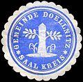 Siegelmarke Gemeinde Doellnitz-Saal Kreis W0300830.jpg