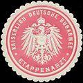 Siegelmarke K. Deutsche Burgarmee Etappenarzt W0346828.jpg
