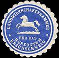 Siegelmarke Landwirtschaftskammer für das Herzogtum Braunschweig W0255340.jpg