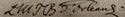 Bathilde's signature