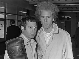Simon & Garfunkel in 1966.
