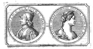 Adelaide of Leuven - Image: Simon I of Lorraine A Delaide