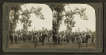 Sioux Indians in 'Full Feather' leaving camp, Nebraska, by Keystone View Company.png