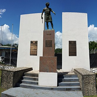 Jacob C. Vouza - Sir Jacob Vouza memorial at Honiara, Solomon Islands.