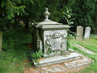 Peter Meyer (merchant) - Grave of Sir Peter Meyer at St. Andrew, Totteridge, London