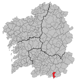 Location of Verín