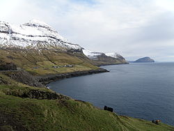 Skælingur and the West Coast of Streymoy Faroe Islands.JPG