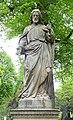 Skulptur auf Grabstätte Familie Reinartz, Bildhauer D. Meinardus, Nordfriedhof Düsseldorf.jpg