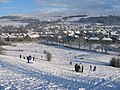 Sledging on Castle Hill - geograph.org.uk - 1630174.jpg
