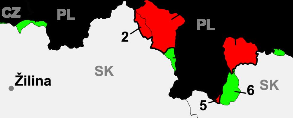 Slovakia borderPoland