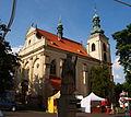 Smečno kostel a socha.JPG
