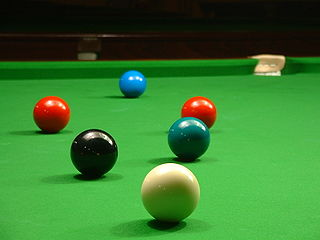 Snookered on two reds - Wikimedia. Author: Florian Albrecht - Flo12, Creative Commons Lizenz: BY-SA 3.0