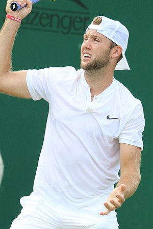 Jack Sock - Sock at the 2017 Wimbledon Championships