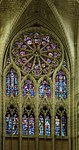 Soissons, cathedral Saint-Gervais-et-Saint-Protais, the windows in north transept.JPG