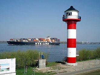 Lühe - Somfletherwisch lighthouse