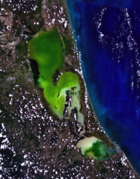 Songkhla Lake from Space