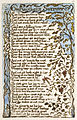 Songs of Innocence and of Experience, copy A, 1795 (British Museum) 15-27 On Anothers Sorrow.jpg
