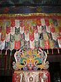 Songzalin Monastery main prayer hall 2nd floor prayer room 2.JPG