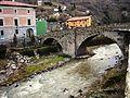 Soto en Cameros - Puente sobre el río Leza.JPG