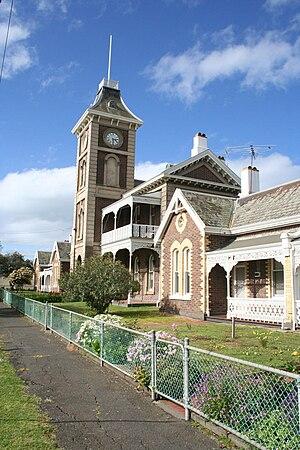 South Geelong, Victoria - Image: South geelong austin terraces clocktower