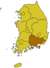 South Gyeongsang map.png