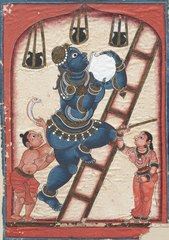 Krishna Stealing Curds