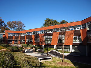 Crawford School of Public Policy - The southern wing of the JG Crawford Building.