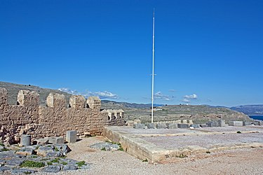 Southwestern acropolis of Lindos 2010.jpg