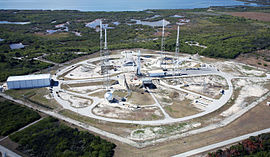 Space Launch Complex 40 at Cape Canaveral (aerial).jpg