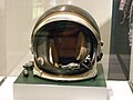 Spacesuit helmet from NASA on exhibit at Chemical Heritage Foundation 2014 DSCF0483.jpg