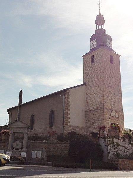 Spincourt (Meuse) église