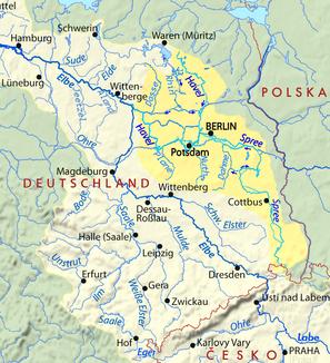 Spree und Havel im Einzugsgebiet der Elbe