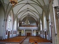 Spreitenbach Katholische Kirche Innen 2.JPG