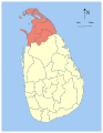 Sri Lanka Northern Province locator map.svg