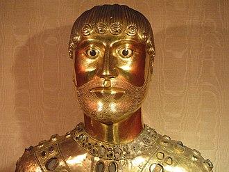 Nectarius of Auvergne - Reliquary bust of Saint Baudimius (Baudime), purported brother of Saint Nectarius.