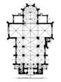St. Anne's Church, Wadowice Gorne (plan).png