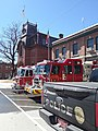St. Johnsbury Athenaeum Main Street downtown St. Johnsbury VT April 2019.jpg