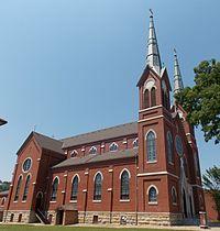 St. Mary's Catholic Church - Guttenberg, Iowa 02 (cropped).jpg