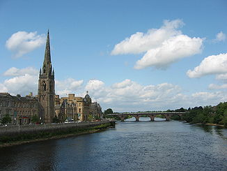 Der River Tay in Perth