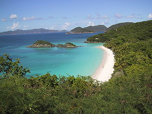 Saint John, U.S. Virgin Islands - Trunk Bay, St.John, U.S. Virgin Islands