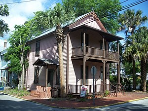 National Register of Historic Places listings in St. Johns County, Florida - Image: St Aug Abbott Tract HD house 01