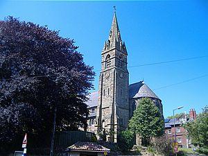 Ruswarp - Image: St Bartholomew's Church, Ruswarp (9 June 2006)