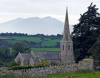 St Edwens Church, Llanedwen Church in Wales
