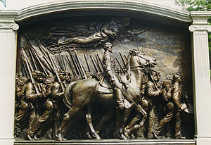 Augustus Saint-Gaudens - The Robert Gould Shaw Memorial, Boston Common (1884–1897)