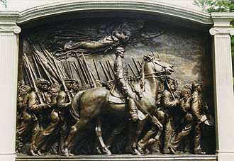 Glory (1989 film) - Memorial at Boston Common by Augustus Saint-Gaudens