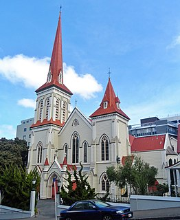 St Johns Church, Wellington Church in Wellington, New Zealand