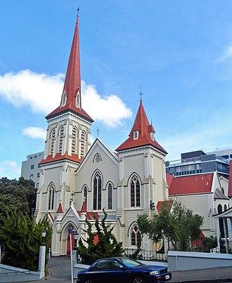 Presbyterian Church of Aotearoa New Zealand - St John's in the City, Wellington