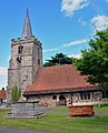 St Lawrence C. of E, Chobham - geograph.org.uk - 865844.jpg